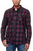 Icebreaker Lodge LS Shirt Men Flannel redwood/stealth/black